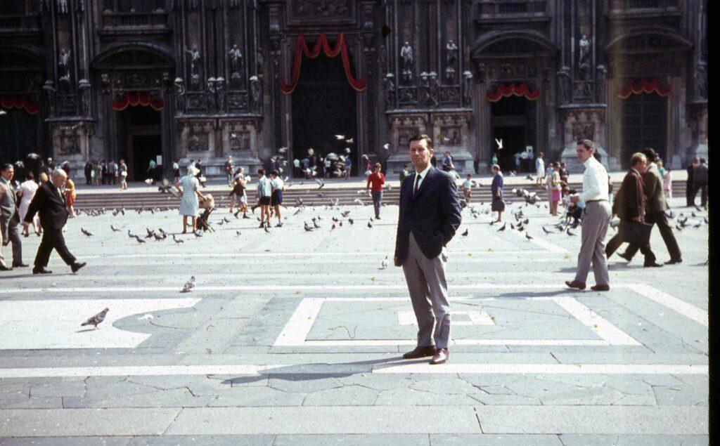 San Marcoplein, Venetie, 1962.