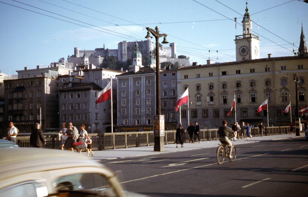 Salzburg, Oostenrijk, 1962