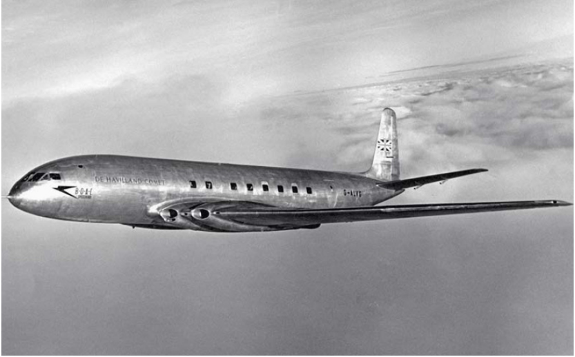 De De Havilland DH-106 Comet, 1949.