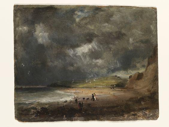 De baai van Weymouth, John Constable, 1816