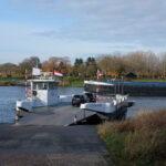 Pontje over de Maas tussen Arcen en Lottum (Foto: Karin van Dam)